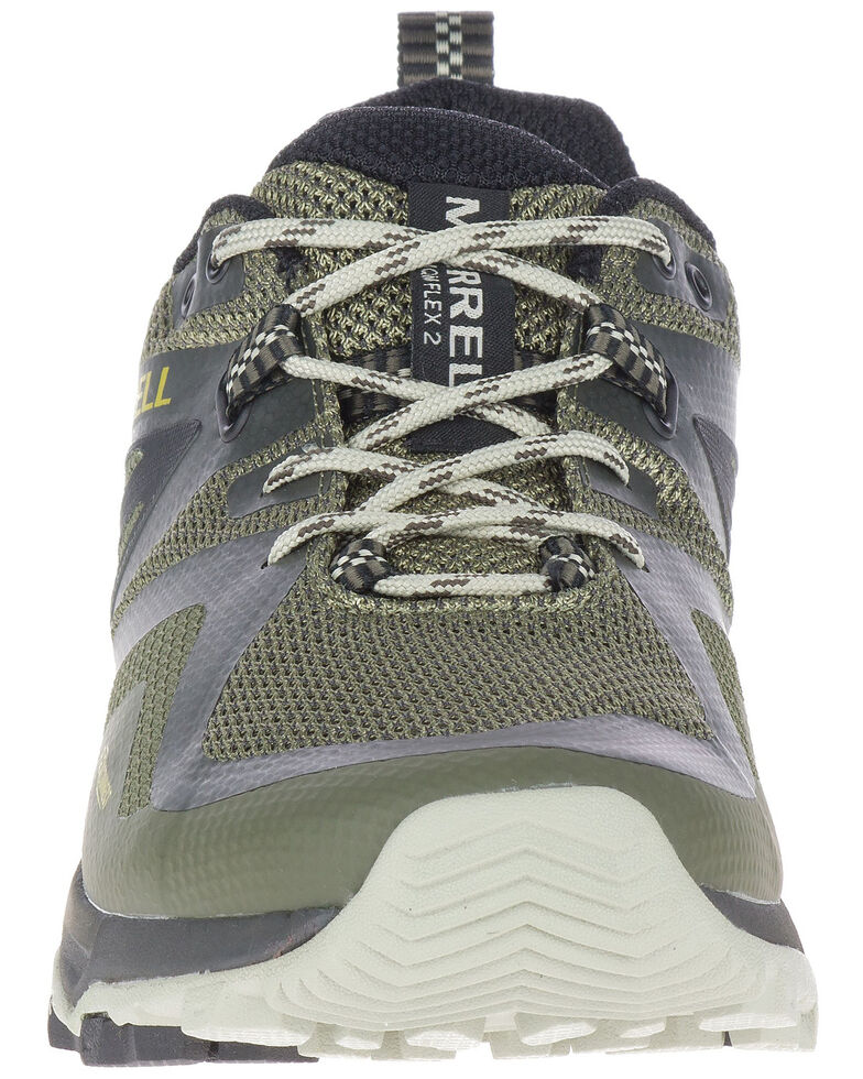 Merrell Men's MQM Flex Hiking Shoes - Soft Toe, Green, hi-res