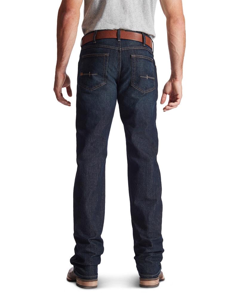 Ariat Men's M5 Rebar Low Rise Straight Leg Work Jeans, Denim, hi-res