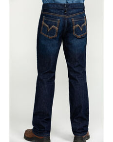Cody James Men's FR Millikin Dark Slim Bootcut Work Jeans , Indigo, hi-res