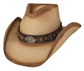 9379736098e2f Bullhide Left Handed Gun Panama Straw Cowboy Hat