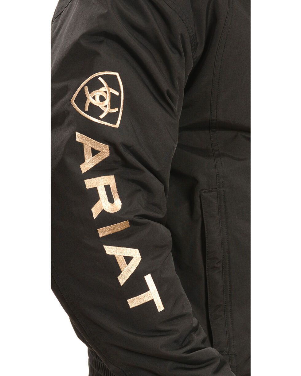 Ariat Team Logo Jacket, Black, hi-res