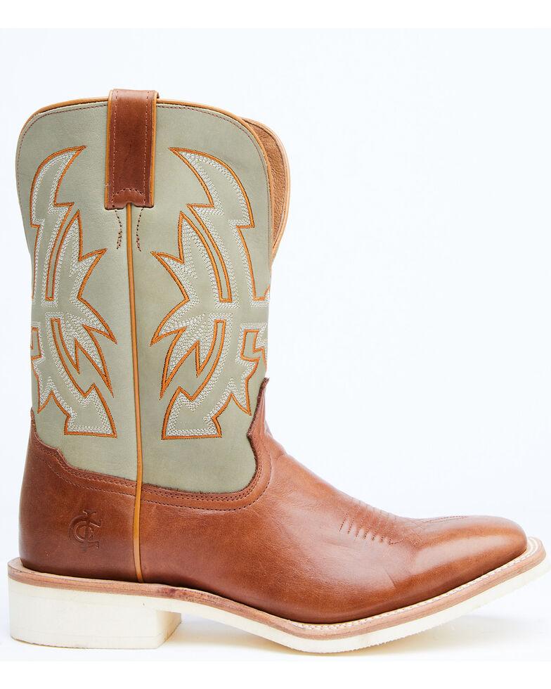 Cody James Men's Crepe Falls Western Boots - Wide Square Toe, Cognac, hi-res