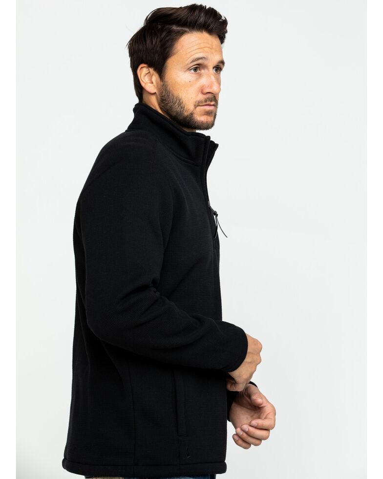 Cody James Men's High Sierra Half Zip Thermal Bonded Fleece Pullover , Black, hi-res