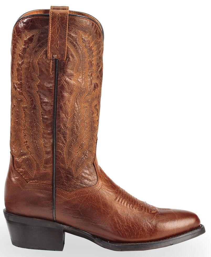 Dan Post Men's Cash Cowboy Boots - Medium Toe  , Cognac, hi-res