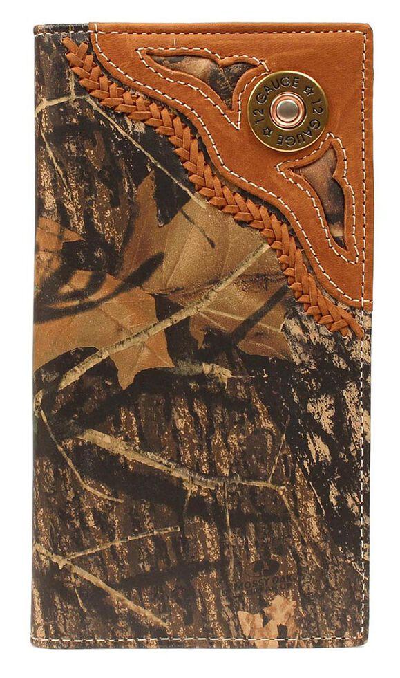 Nocona Camo Shotgun Shell Rodeo Wallet, Camouflage, hi-res