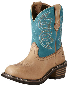 Ariat Women's Charlotte Boots - Medium Toe, Tan, hi-res