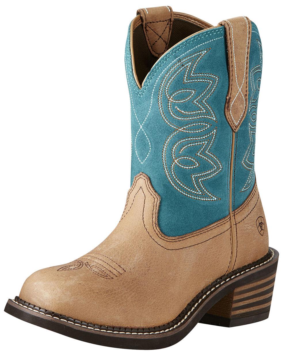 Ariat Women's Charlotte Boots - Medium Toe, Tan, hi-res