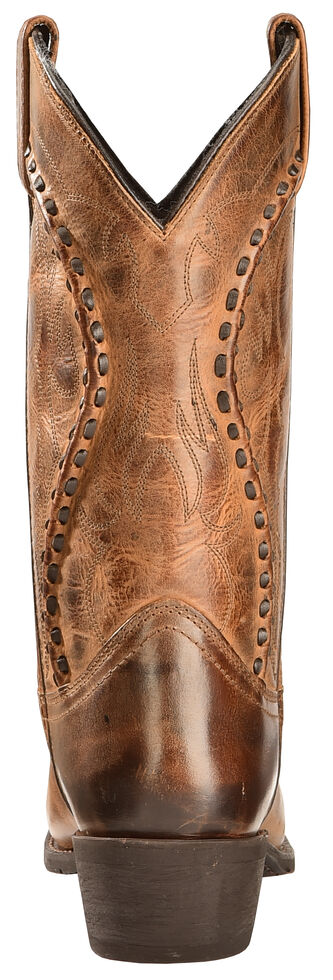 Laredo Men's Laramie Western Boots - Snip Toe, Rust, hi-res
