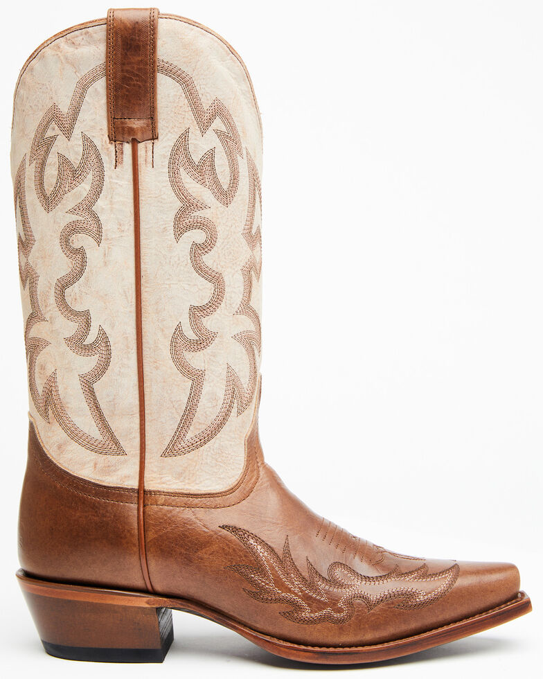 Shyanne Women's Amber Western Boots - Snip Toe, Brown, hi-res