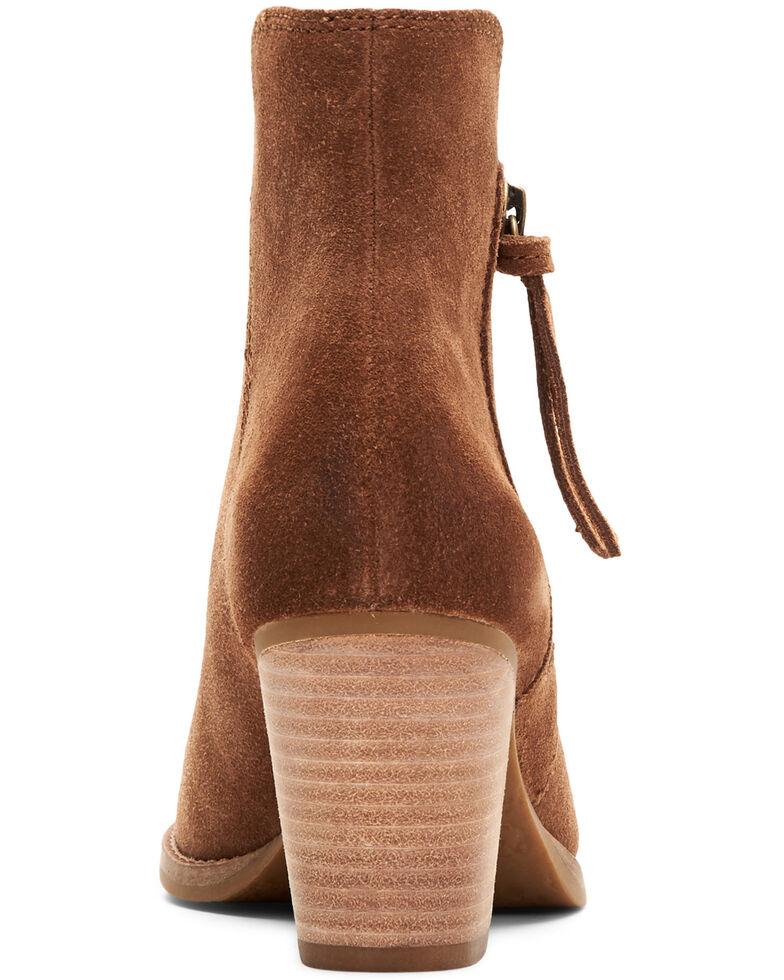 Frye & Co. Women's Allister Zipper Fashion Booties, Cognac, hi-res