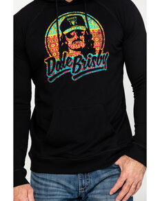 Dale Brisby Men's Multi Aztec Logo Hooded Sweatshirt , Black, hi-res