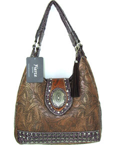 2e37d637ed40 Savana Women s Fierce Tooled Design Conceal Carry Purse
