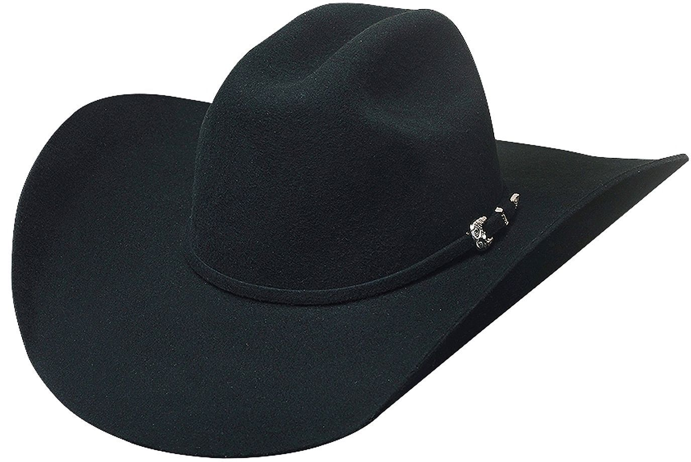 52cbcd390d7 ... promo code for bullhide broken horn 4x wool felt cowboy hat black hi  res e7ecc 1541c