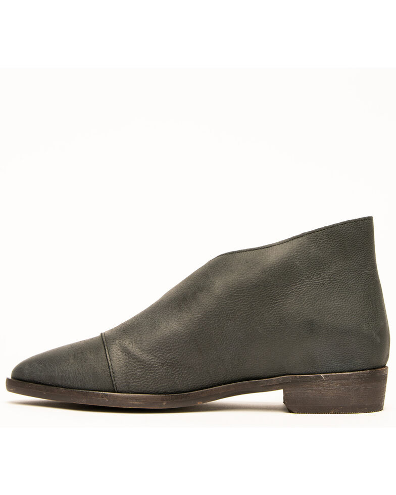Free People Women's Flat Royale Booties, Black, hi-res