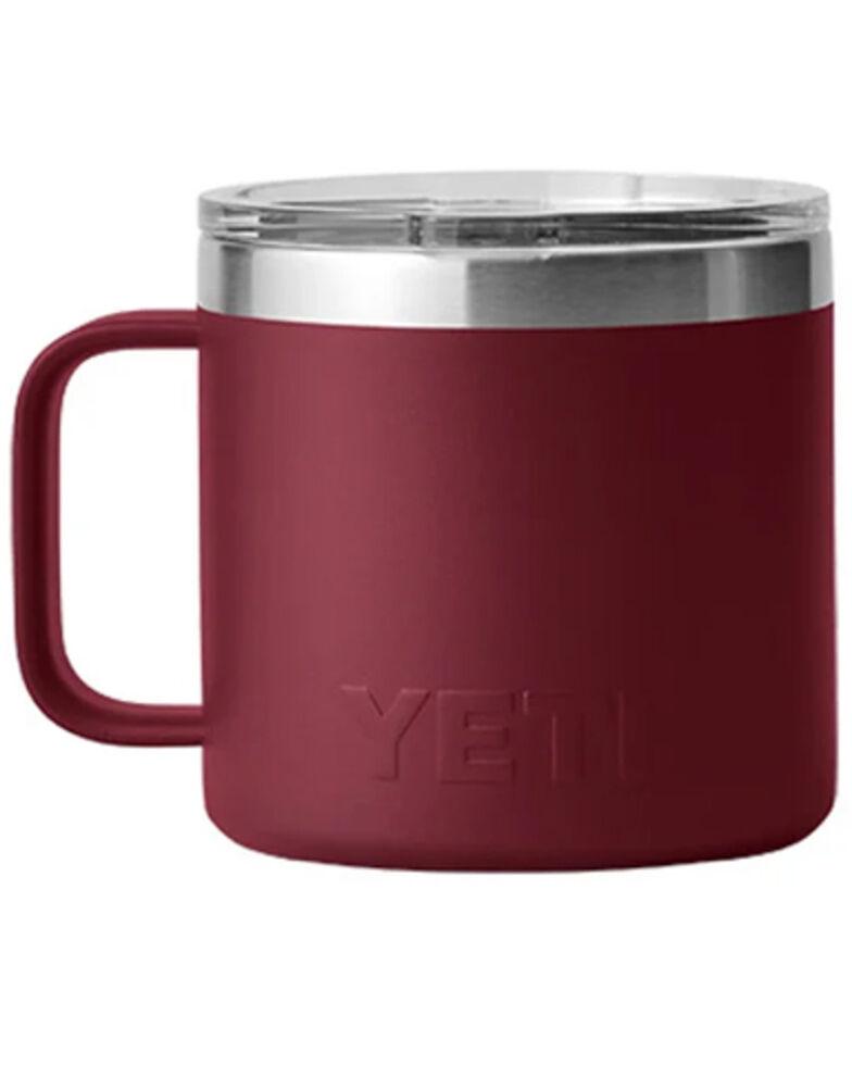 Yeti Rambler Red 14oz Mug, Red, hi-res