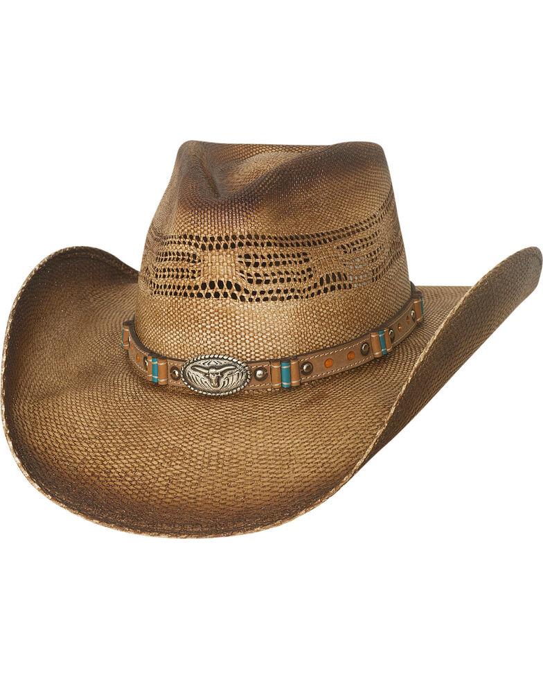 Bullhide Men's Natural Craving You Straw Cowboy Hat, Natural, hi-res