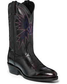 """Nocona Men's 12"""" Black Cherry Cowboy Boots - Medium Toe, Black Cherry, hi-res"""