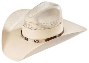c4573b4fd93 Justin 20X Mesa All Around Straw Cowboy Hat