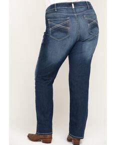 Ariat Women's R.E.A.L. Margot Straight Leg Jeans - Plus, Blue, hi-res