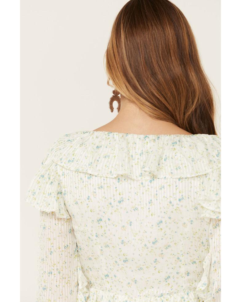 Free People Women's Sweetest Thing Mini Dress, Ivory, hi-res