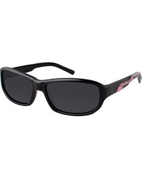 Realtree Men's Black Max-4 Polarized Sunglasses , Pink, hi-res