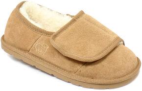 Lamo Footwear Women's Wrap Slippers, Chestnut, hi-res
