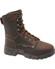 Carolina Men's Brown Flagstone Work Boots - Composite Toe , Brown, hi-res