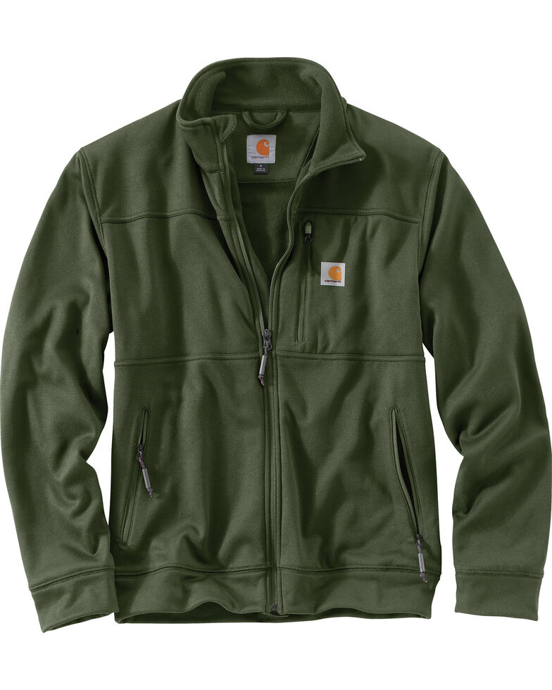 Carhartt Men's Workman Work Jacket, Moss, hi-res