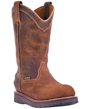 Dan Post Men's Sky Walker Waterproof Work Boots - Round Toe, Tan, hi-res