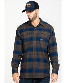 Ariat Men's Drake Rebar Flannel Durastretch Long Sleeve Work Shirt , Multi, hi-res