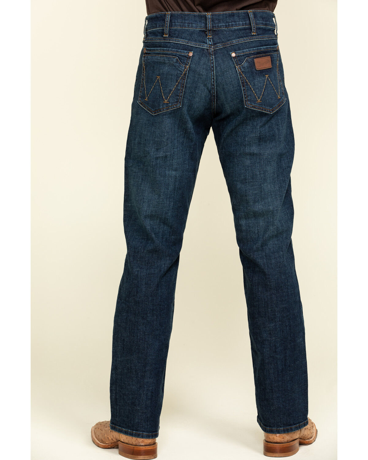 Phillips Dark Relaxed Bootcut Jeans