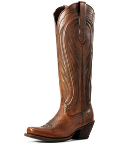 Ariat Women's Abilene Copper Western Boots - Snip Toe, Brown, hi-res