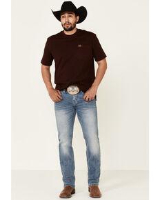 Rock & Roll Denim Men's Light Vintage Revolver Stretch Slim Straight Jeans , Blue, hi-res