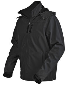 STS Ranchwear Men's Black Barrier Jacket - Big , Black, hi-res