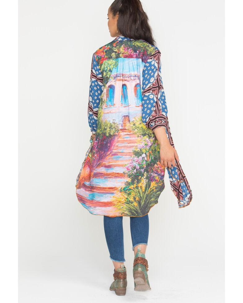 Aratta Women's Blue To The Shores of Tripoli Dress , Blue, hi-res