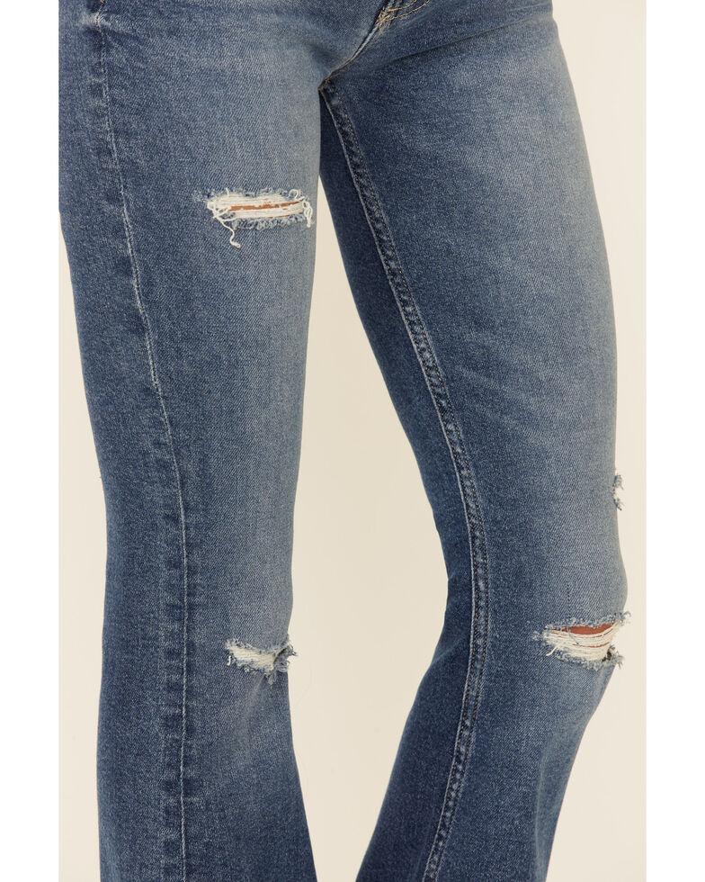 Idyllwind Women's Night Legend High Risin' Flare Leg Jeans, Dark Blue, hi-res