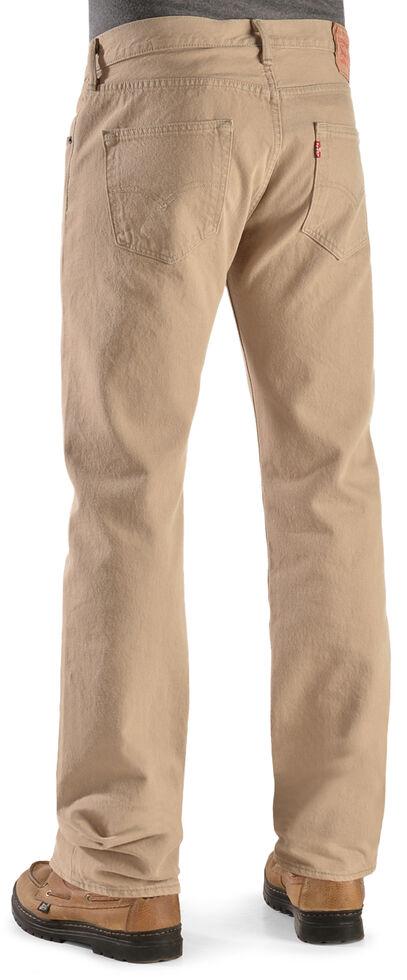 Levi's Men's 501 Timberwolf Original Fit Straight Leg Jeans  , Lt Tan, hi-res