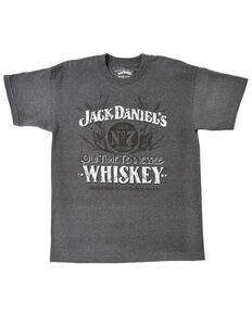 Jack Daniel's Men's Corn Mash Short Sleeve T-Shirt, Grey, hi-res