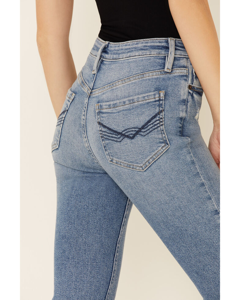 Idyllwind Women's Vintage High-Risin' Flare Leg Jeans, Medium Blue, hi-res