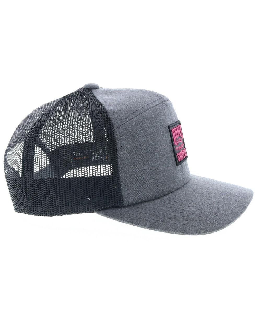 HOOey Men's Western Athletic Supply Trucker Cap, Grey, hi-res
