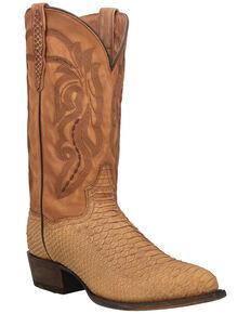 Dan Post Men's Mayson Western Boots - Snip Toe, Tan, hi-res