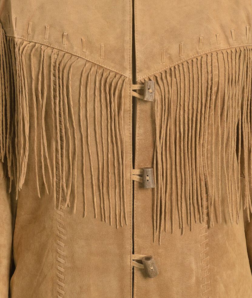 Scully Fringe Suede Leather Jacket, Tan, hi-res