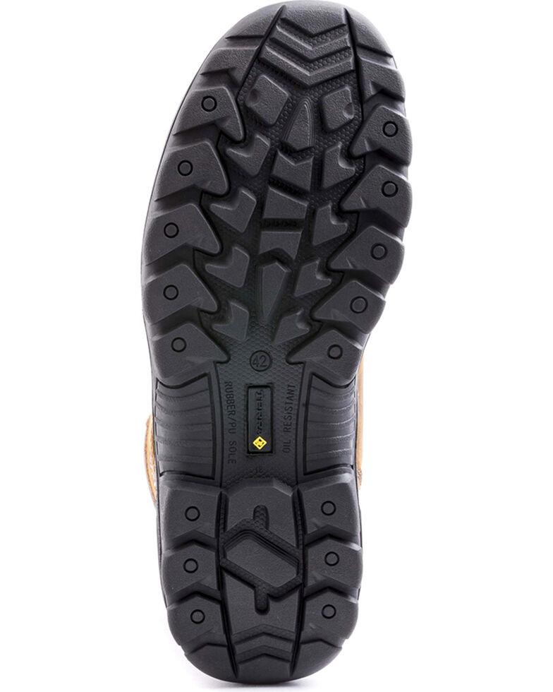 "Terra Men's Grafton 6"" Work Boots - Composite Toe, Brown, hi-res"