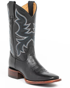 Shyanne Women's Black Western Boots - Square Toe, Black, hi-res