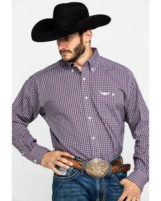 Ariat Men's Ride Multi Check Plaid Long Sleeve Western Shirt , Multi, hi-res