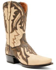 Dan Post Men's AO Design Western Boots - Snip Toe, Tan, hi-res