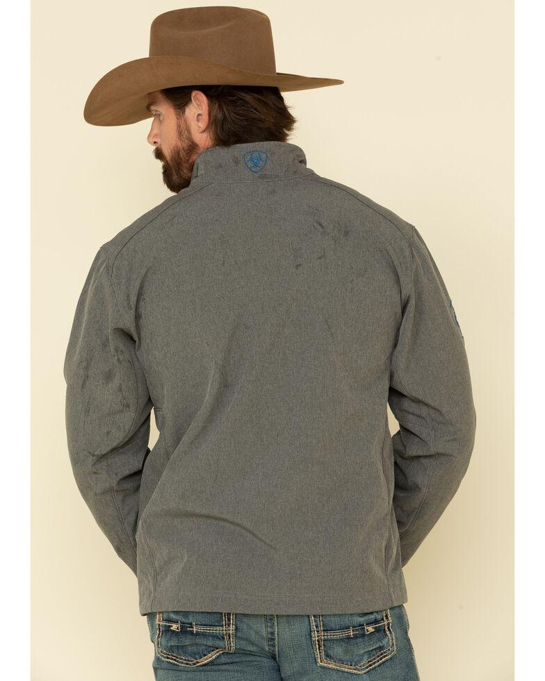 Ariat Men's Charcoal Logo 2.0 Softshell Jacket - Big , Charcoal, hi-res