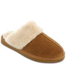 Minnetonka Women's Chesney Scuff-Free Slippers, Cinnamon, hi-res