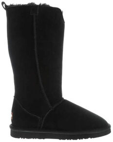 Lamo Footwear Women's Bellona Tall Boots - Round Toe, Black, hi-res