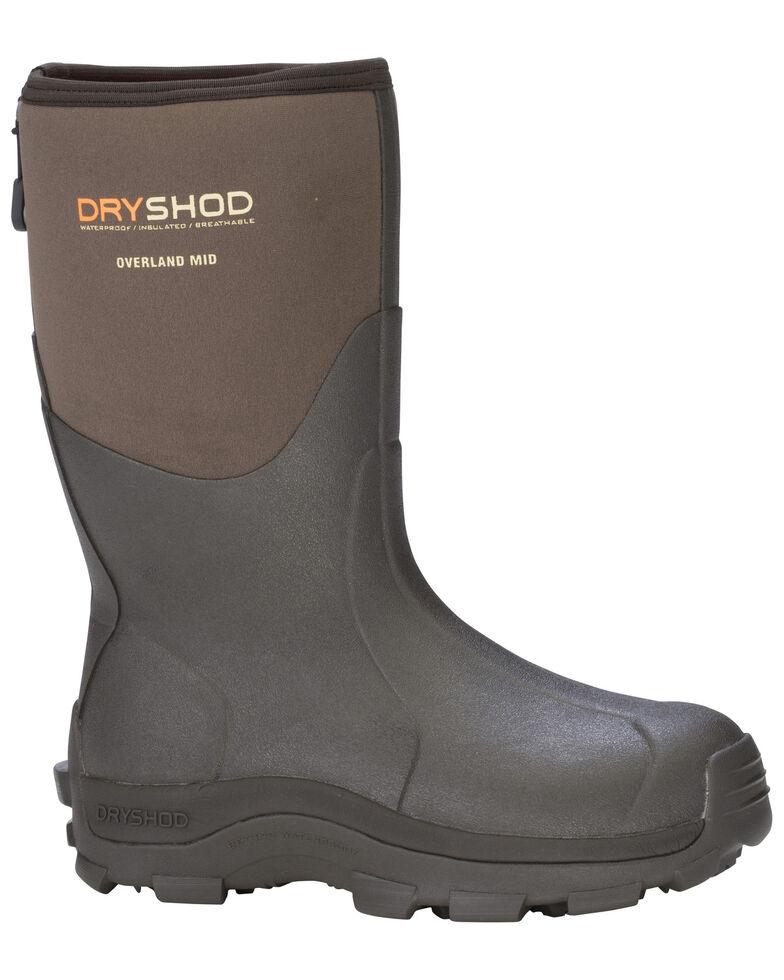 Dryshod Men's MID Overland Premium Outdoor Sport Boots, Beige/khaki, hi-res